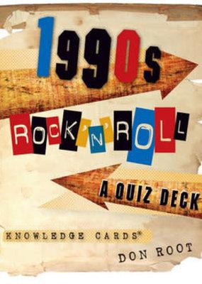 Pomegranate Quiz Deck 1990's Rock
