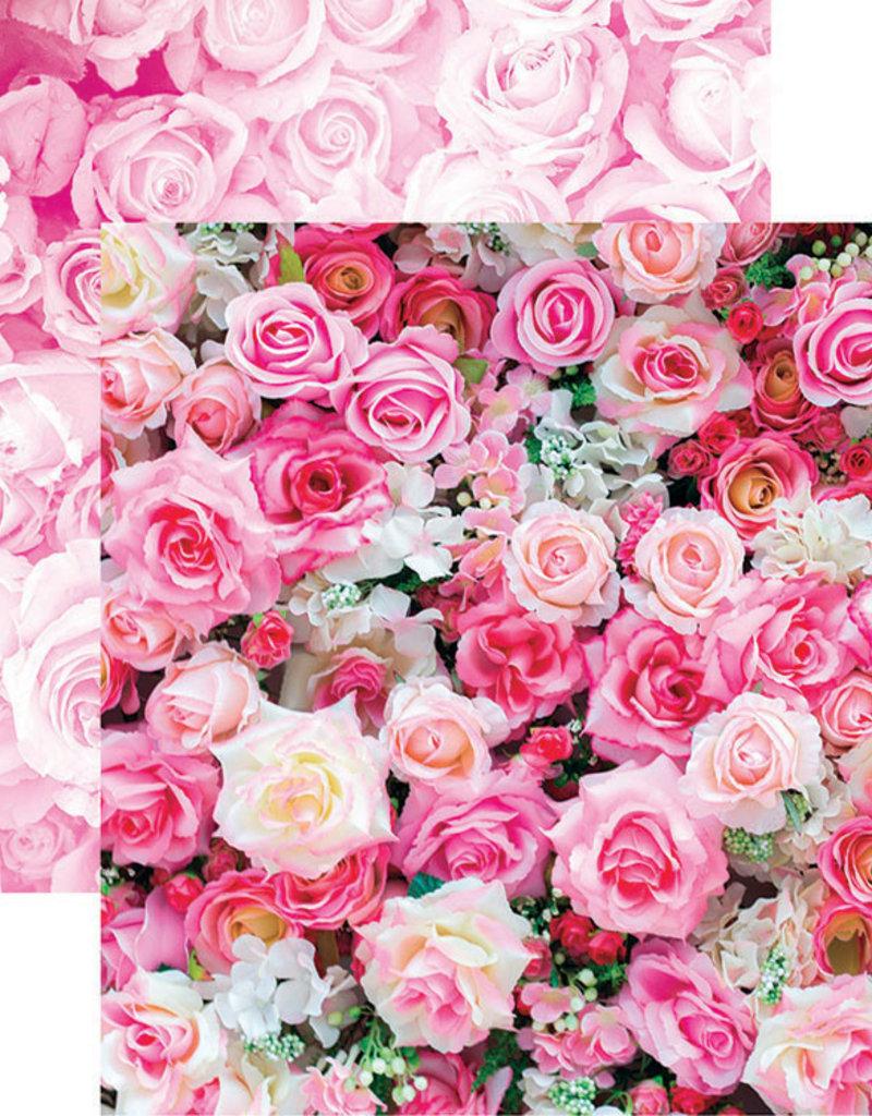 Reminisce 12 x 12 Paper Rose Bouquet