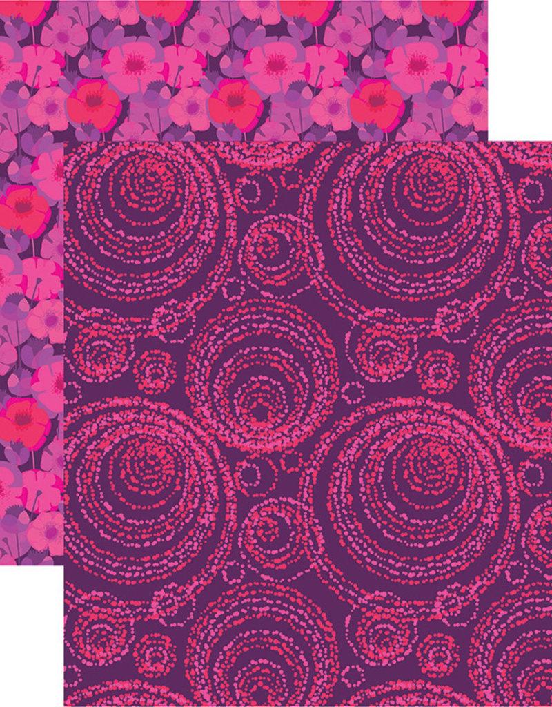 Reminisce 12 X 12 Decorative Paper VB Inspired Geo Pattern