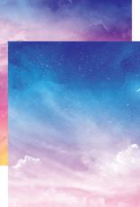 Reminisce 12 X 12 Decorative Paper Skyscape Dreamscape