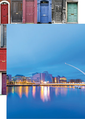 Reminisce 12 X 12 Decorative Paper Ireland Samuel Beckett Bridge