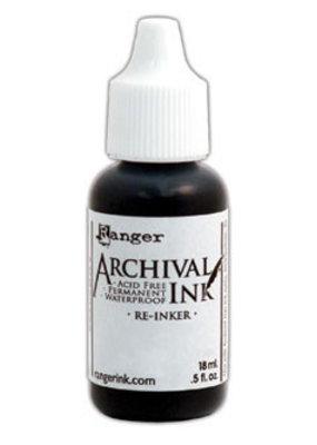 Ranger Ranger Archival Ink Pad Re-Inker Vermillion
