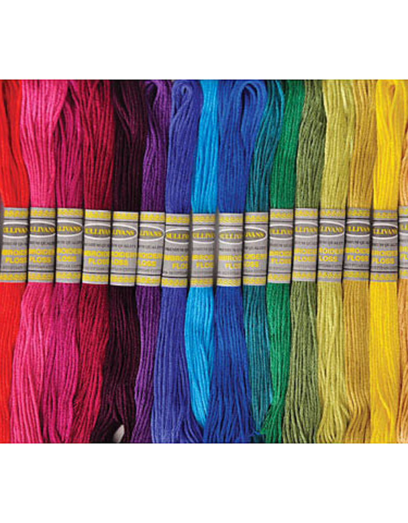 Sullivans Embroidery Floss 100% Egyptian Cotton