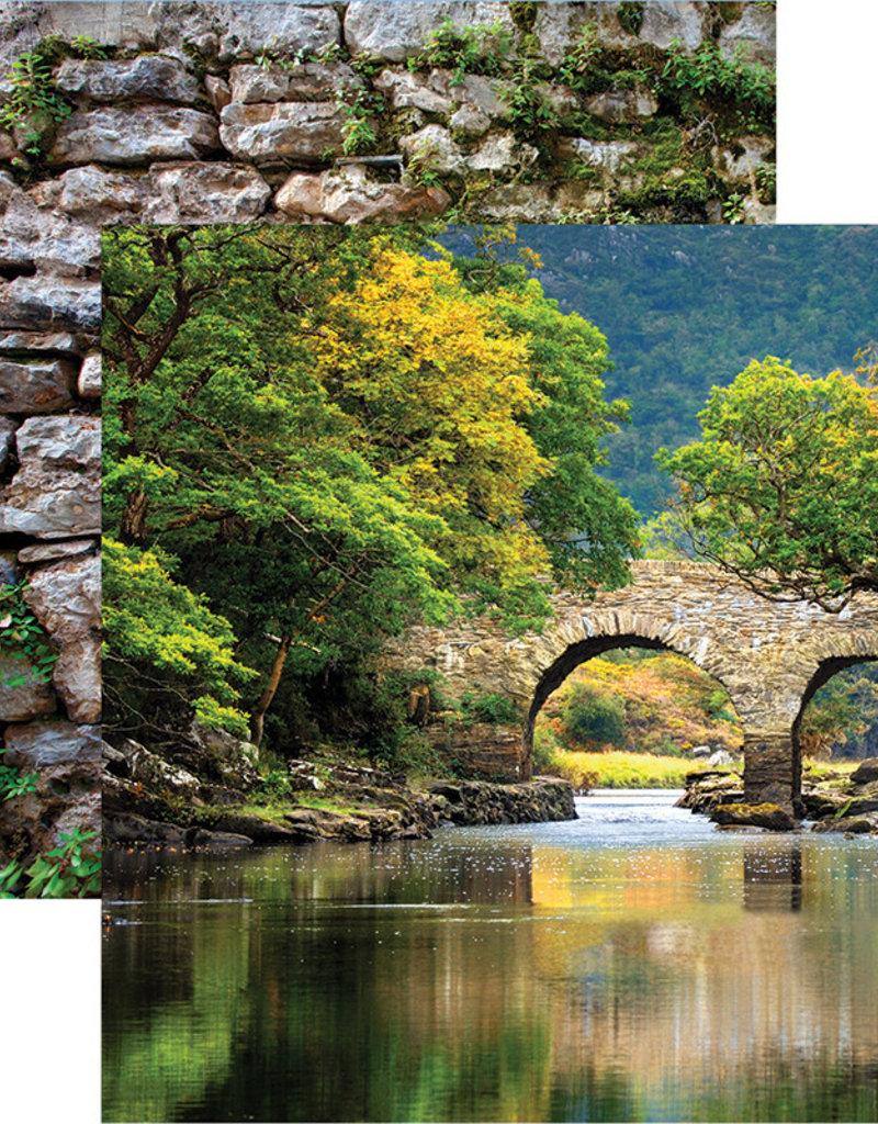 Reminisce 12 X 12 Decorative Paper Ireland Killarney National Park