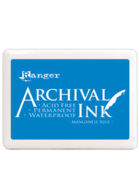 Ranger Ranger Archival Ink Pad Large Manganese Blue
