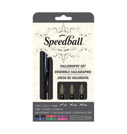 Speedball Fountain Calligraphy Pen 12 Piece Set