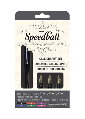 Speedball Fountain Calligraphy Pen 12 Piece Set