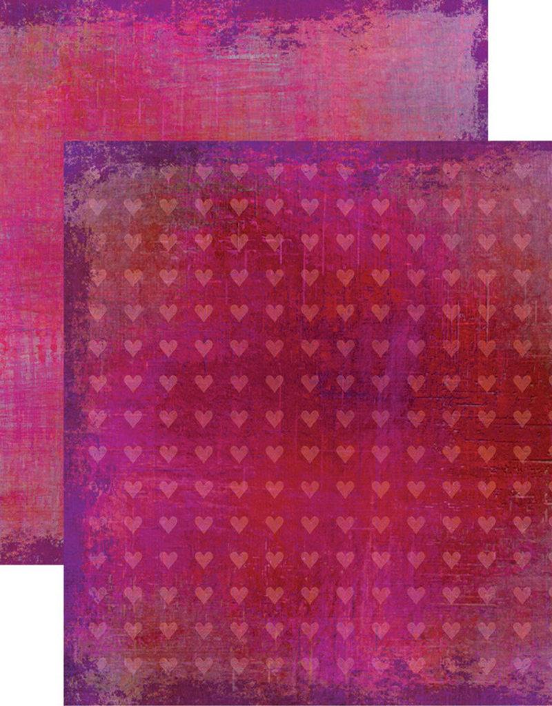 Reminisce 12 X 12 Decorative Paper Love is Kind