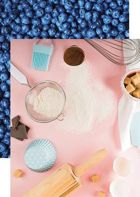 Reminisce 12 X 12 Decorative Paper Let's Bake