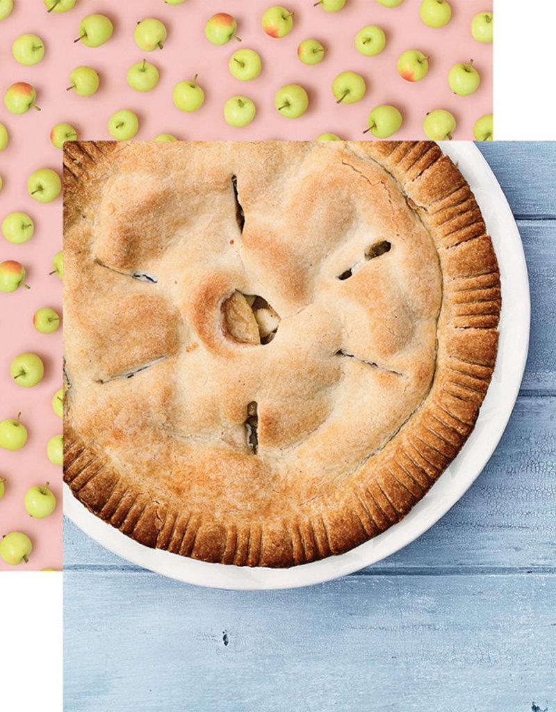 Reminisce 12 X 12 Decorative Paper Apple Pie