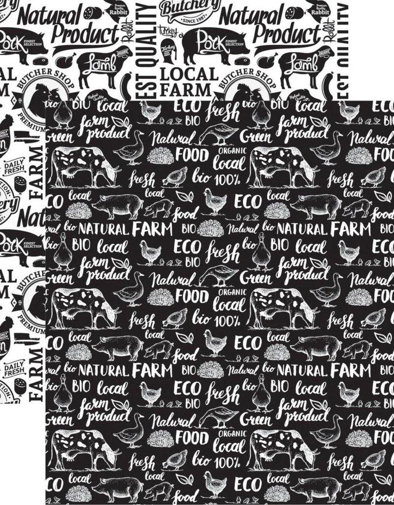 Reminisce 12 X 12 Decorative Paper Farm Fresh