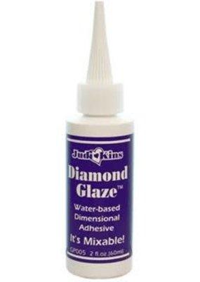 Judikins Diamond Glaze Dimensional Adhesive 2 Ounce