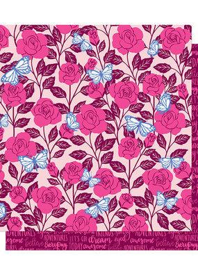 Shimelle 12 x 12 Paper  Shimelle Briar Rose