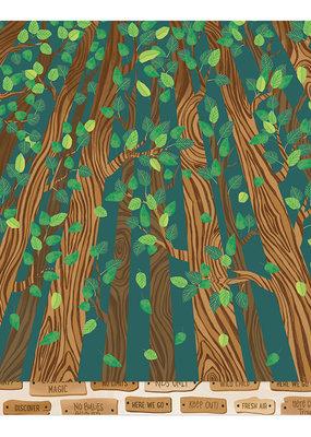 Shimelle 12 x 12 Paper Climb Trees