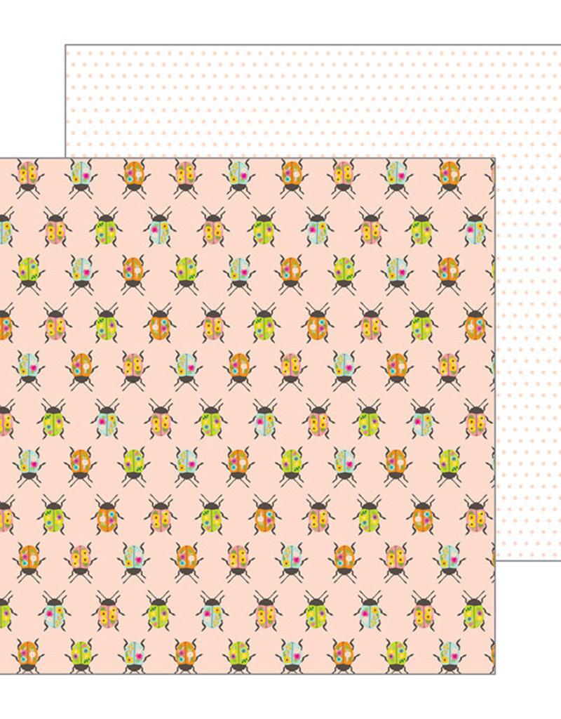 Jen Hadfield 12 x 12 Paper Painted Beetles