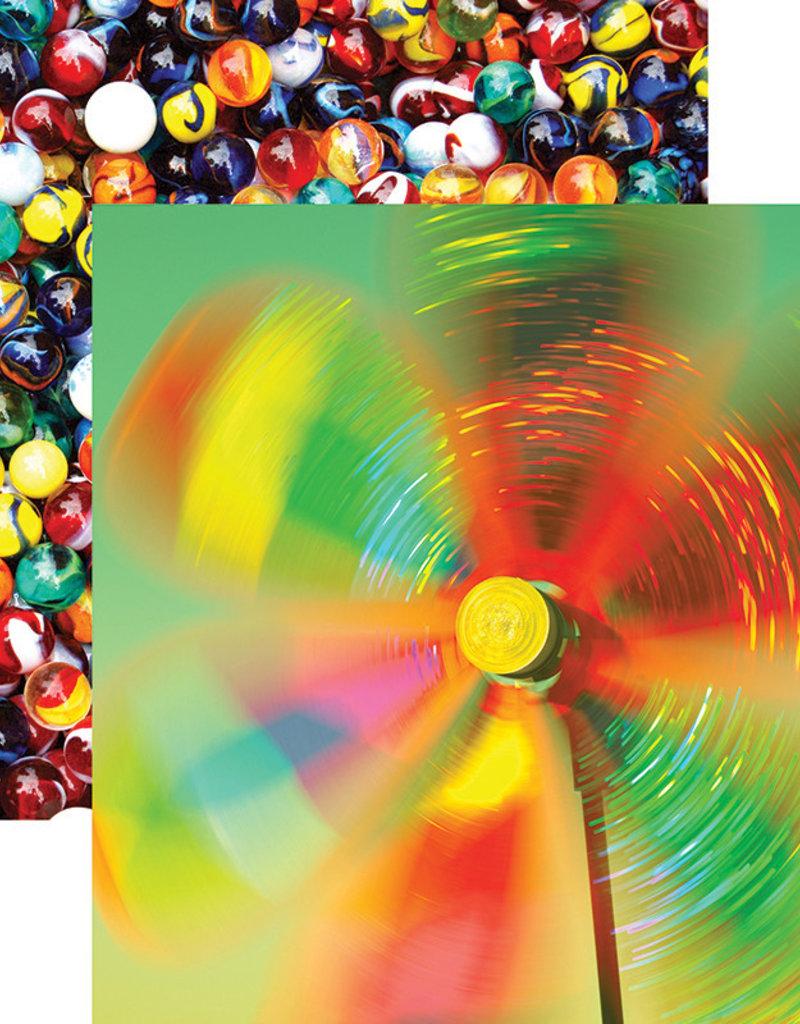 Reminisce 12 X 12 Decorative Paper Kids At Play Color Magic