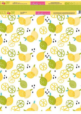 Doodlebug Design Inc. 12 X 12 Squeeze The Day Zesty