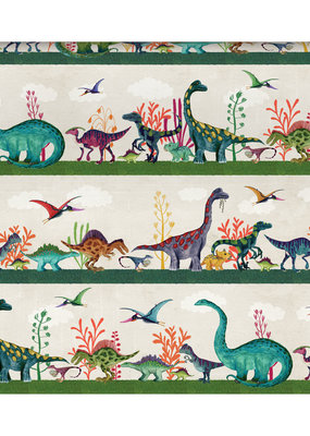 Roger La Borde Wrap Sheet Dinosaur Land