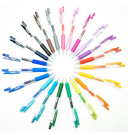 Zebra Zebra Sarasa Clip Shiny Retractable Gel Pen 1mm