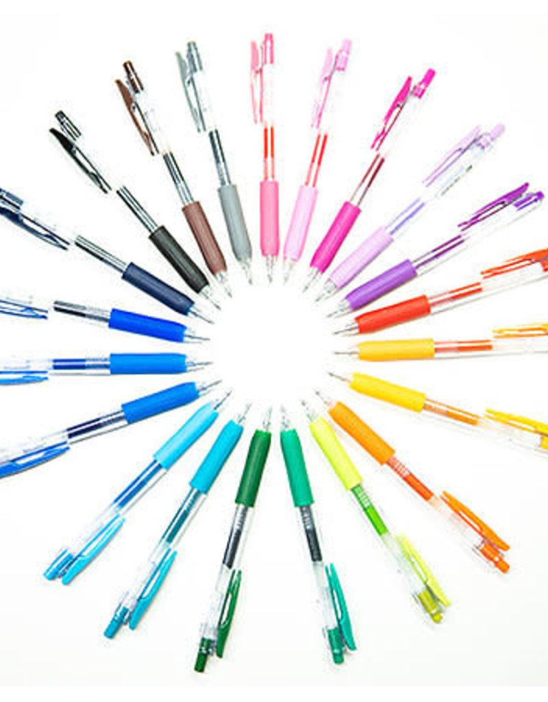 Zebra Zebra Sarasa Clip Shiny Retractable Gel Pen 1mm