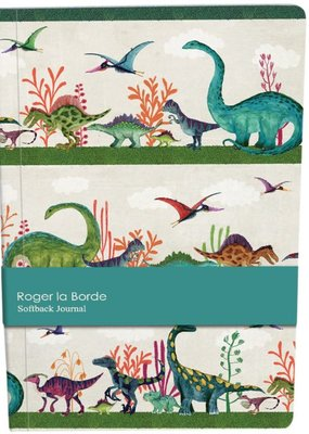 Roger La Borde Softback Journal A5 Dinosaurs Lined