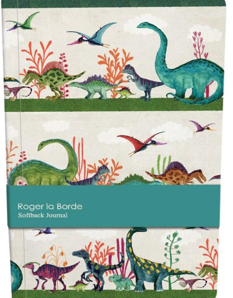 Roger La Borde Softback Journal A5 Dinosaurs Lined