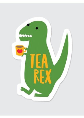 Rock Scissor Paper Sticker Tea Rex