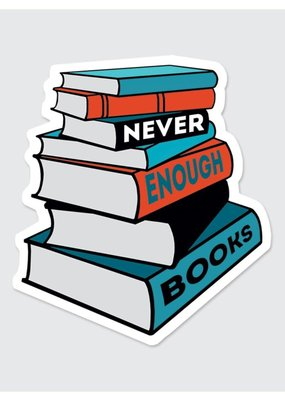Rock Scissor Paper Sticker Never Enough Books