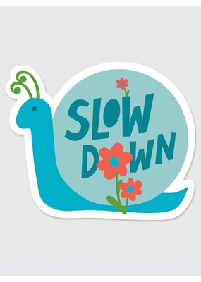 Rock Scissor Paper Sticker Slow Down Snail