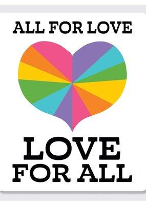 Rock Scissor Paper Sticker All For Love