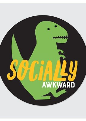 Rock Scissor Paper Sticker Socially Awkward
