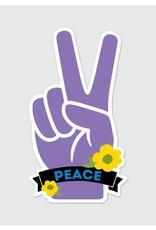 Rock Scissor Paper Sticker Peace