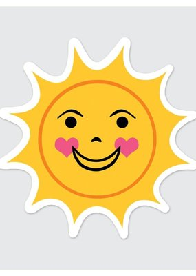 Rock Scissor Paper Sticker Sun