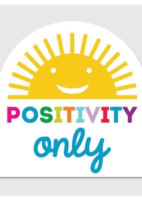 Rock Scissor Paper Sticker Positivity Only