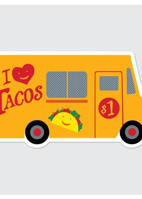 Rock Scissor Paper Sticker Taco Truck