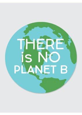Rock Scissor Paper Sticker No Planet B