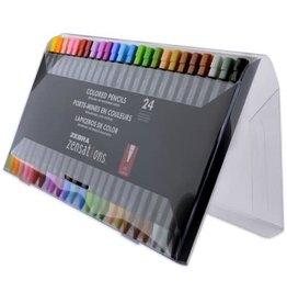 Zebra Zebra Zensation Colored Pencils Assorted 24 Pack