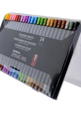 Zebra Zebra Zensation Colored Pencils Assorted 24 Pack