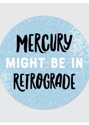 Rock Scissor Paper Sticker Mercury Retrograde