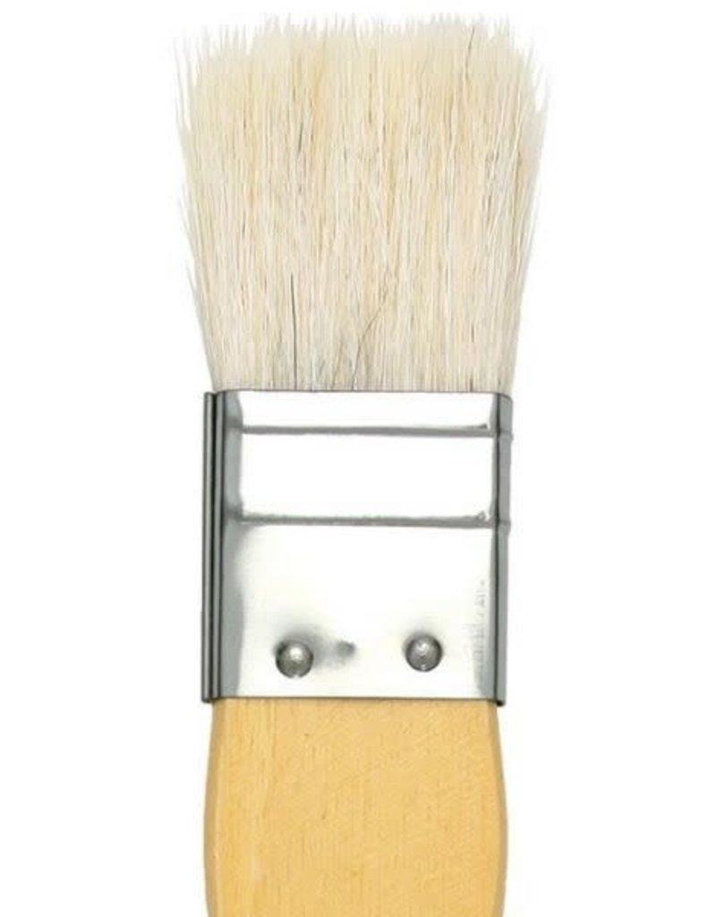 Yasutomo Hake Brush Flat 1''