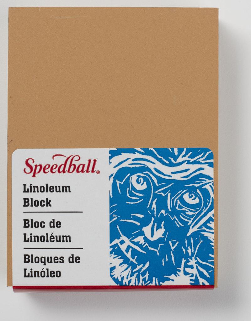 Speedball Linoleum Block 3 x 4 inch