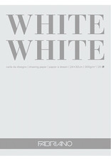Fabriano Fabriano White White Pad 9 x 12 20 Sheets