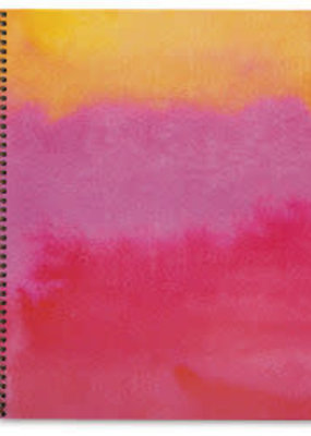 Waste Not Spiral Notebook Sunset Watercolor