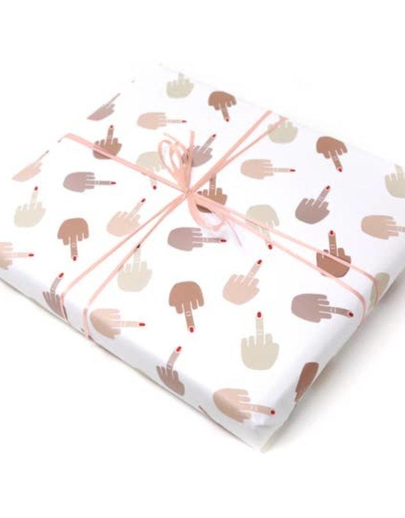 Unblushing Gift Wrap Finger