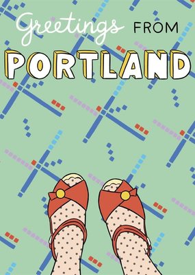 The Found Card Portland Feet