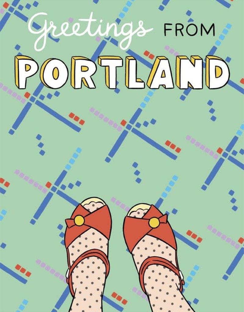 The Found Card Portland Feet