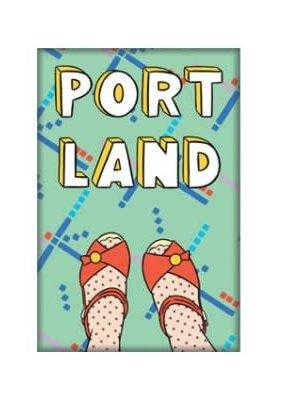The Found Magnet Portland Feet