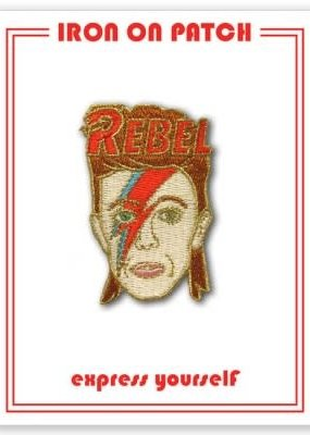 The Found Patch David Bowie