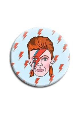 The Found Round Magnet Bowie
