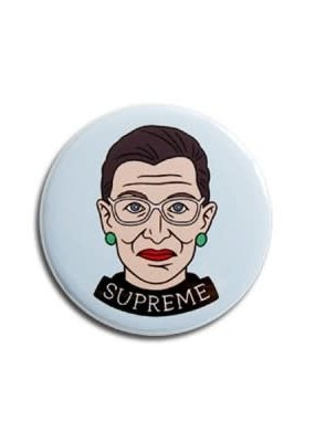 The Found Round Magnet Ruth Bader Ginsburg